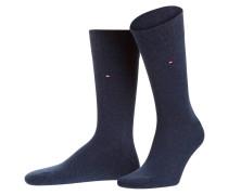 2er-Pack Socken - jeansblau