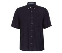 Kurzarm-Hemd Regular Fit aus Leinen