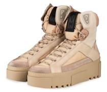 Hightop-Sneaker - CREME