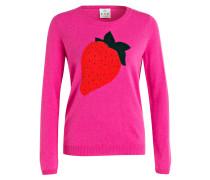 Pullover mit Cashmereanteil - pink