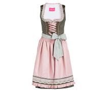 Dirndl - oliv/ rosa
