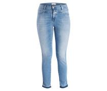 7/8-Jeans SKINNY PUSHER - du soft mid blue