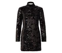 Kleid RELIEF mit Paillettenbesatz