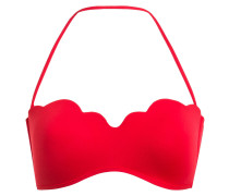 Bandeau-Bikini-Top PETAL EDGE