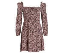 Kleid RANAEL - rot/ schwarz/ creme