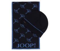 Set: Schal und Mütze SEAN - dunkelblau