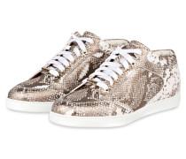 Sneaker MIAMI - bronze/ weiss