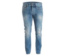 Destroyed-Jeans RAZOR Slim-Fit