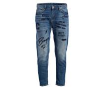 Boyfriend-Jeans JANIS - denim blau