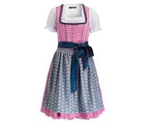 Dirndl LUANA - rosa/ navy/ mint
