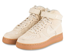 Hightop-Sneaker AIR FORCE 1 SE - sand