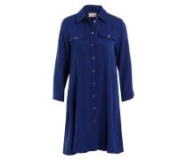 Blusenkleid MONTANA - blau