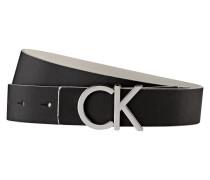 Wendegürtel - schwarz/ grau