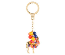 Schlüsselanhänger JEWELED CAMEL - rot