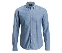 Hemd Slim-Fit - blau
