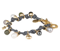 Armband BE DREAMY - grau/ gold