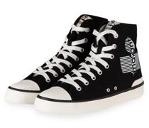 Hightop-Sneaker BENKEEN - SCHWARZ