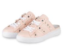 Slipper im Sneaker-Stil - rosa