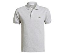 Piqué-Poloshirt Classic-Fit - grau