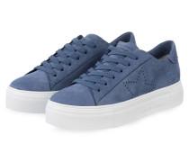 Plateau-Sneaker BIG - blau