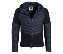 Daunenjacke WARRIOR im Materialmix