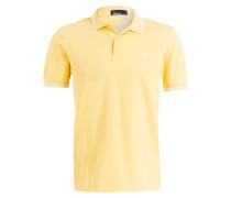Piqué-Poloshirt - gelb
