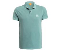 Piqué-Poloshirt PASCHA Slim-Fit - petrol