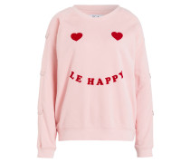 Sweatshirt LE HAPPY - rosa