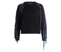 Sweatshirt TRIANGLE - schwarz