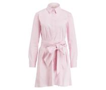 Blusenkleid - rosa
