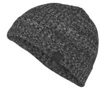 Mütze ARAFFONO - schwarz meliert