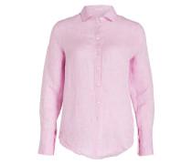 Leinenbluse - pink