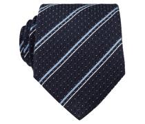 Krawatte - marine/ blau