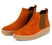 Chelsea-Boots - ORANGE