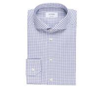 Hemd Contemporary-Fit - blau/ weiss