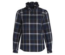 Bluse BARRY - schwarz/ blau/ grau/ kariert
