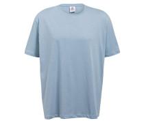 Oversized-Shirt - hellblau