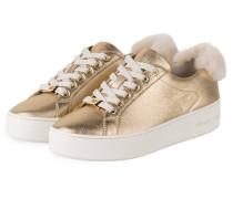 Plateau-Sneaker POPPY - plae gold
