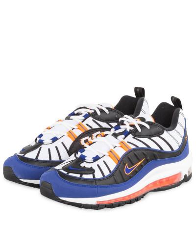 Sneaker AIR MAX 98 - WEISS/ BLAU/ ORANGE