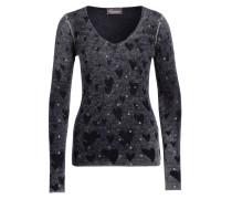 Pullover mit Cashmere-Anteil - dunkelgrau
