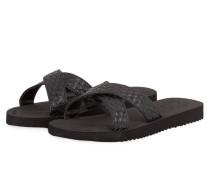 Sandalen CROSS BRAID - schwarz