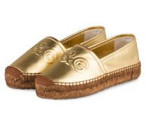 Espadrilles - gold