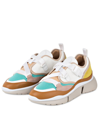 Sneaker SONNIE LOW - NATURAL WHITE