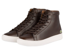 Hightop-Sneaker L1212 - dunkelbraun