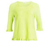 Pullover mit 3/4-Arm - lime