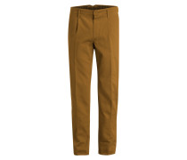 Chino Slim-Fit - hellbraun