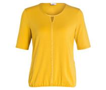 Shirt mit 3/4-Arm - ocker