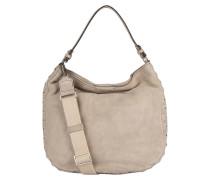 Hobo-Bag mit Nietenbesatz