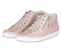 Hightop-Sneaker - pink