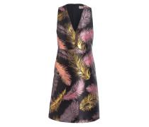 Kleid - schwarz/ rosa/ gold